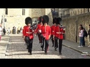 England the Tower of London Make Way for Queen s Guards Trooping The Colour The British Grenadiers