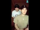 [V LIVE] 180618 XENO-T Sangdo feat. Sangwon r u happy?💞 V Live