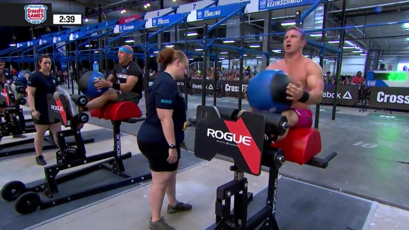 2018 CrossFit Games _ Age Group Core Couplet