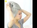 SnAiL | КОРЕЙСКАЯ КОСМЕТИКА (⌒▽⌒)☆ | Как завязать полотенце в корейском стиле