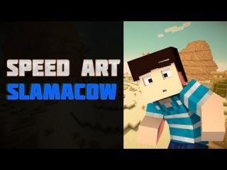 Speed Art Slamacow Creative