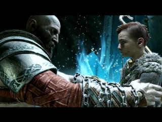 God of War PS4 - Atreus kills Thors Son Modi