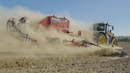 KVERNELAND Landmaschinen in Action Teaser 3 3 Traktoren im Sonnenuntergang
