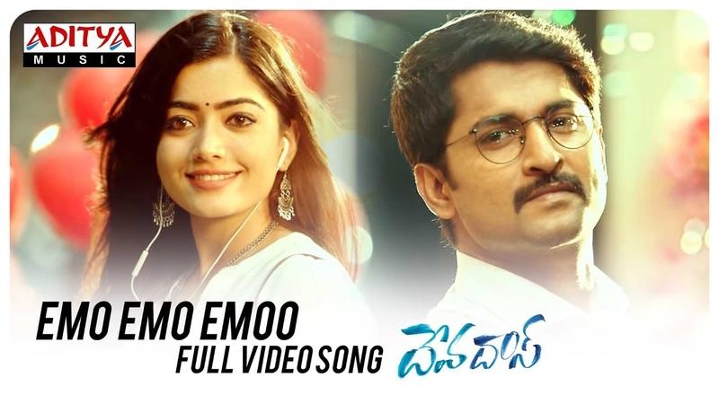 Emo Emo Emoo Full Video Song   Devadas Songs   Akkineni Nagarjuna,Nani,Rashmika,Aakanksha Singh