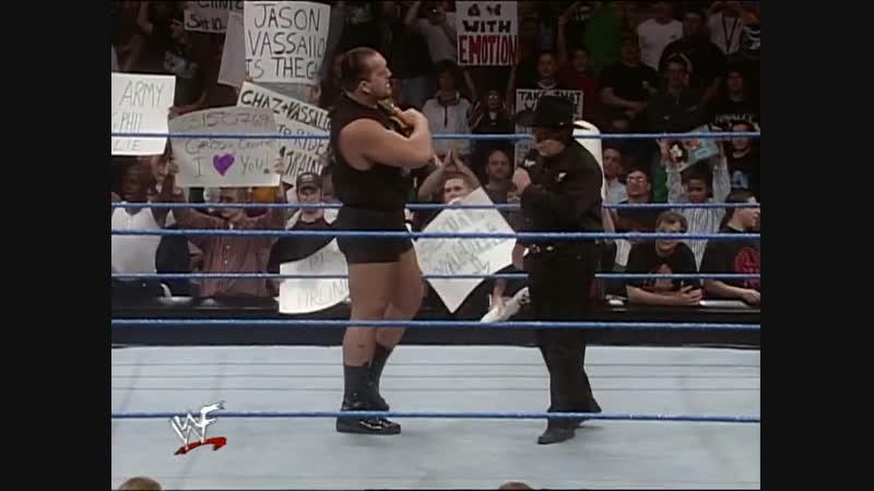 Big Show Vs Chris Jericho - WWF Championship - No DQ Match - SmackDown 25.11.1999