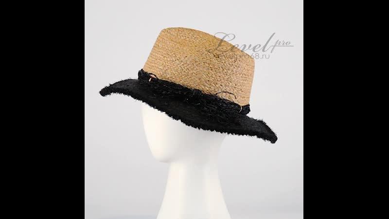 Соломенная шляпка Терра