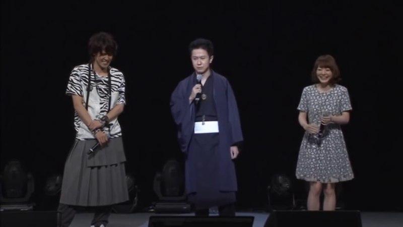 声優イベント 杉田智和が花澤香菜にムチで叩かれる 笑 妖狐xx僕SS