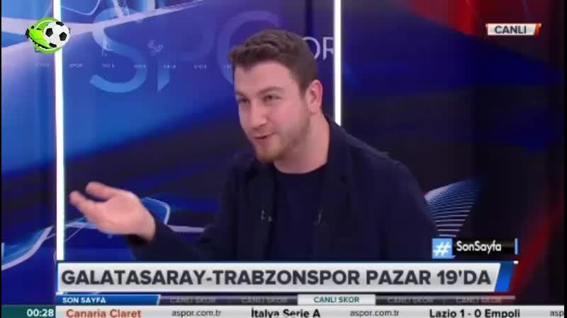 Galatasaray Gelişmeleri ve Trabzonspor Maçı Uğur Karakullukçu Yorumları
