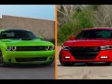 2015 Dodge Challenger RT vs 2015 Dodge Charger Comparison