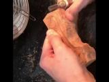 Для тех, кто интересуется, каким образом изготовляются деревянные фигурки