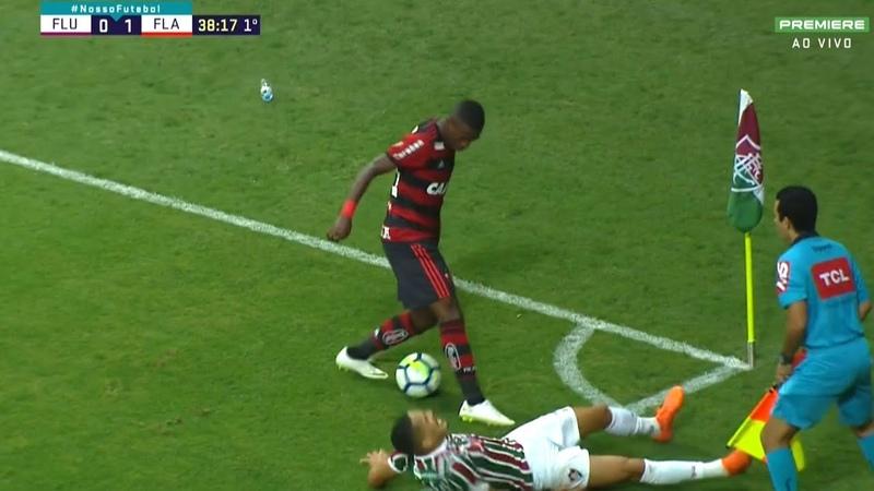 Vinícius Júnior vs Fluminense HD 1080i (07/06/2018)