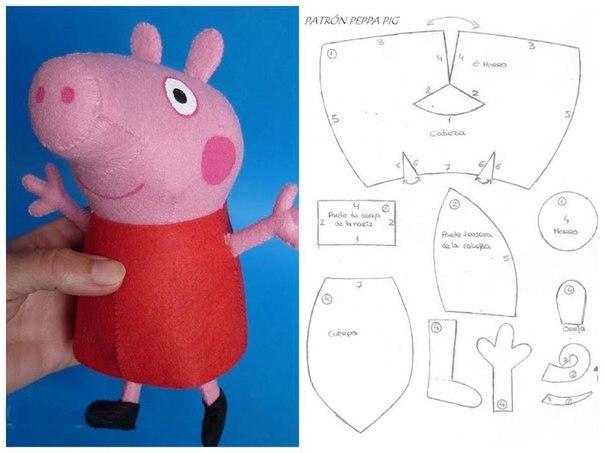 Свинка пеппа своими руками
