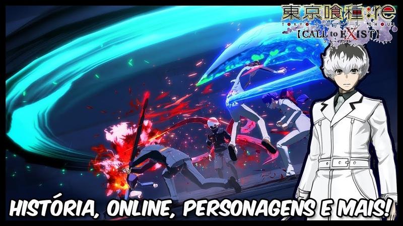 Tokyo Ghoul Re: Call to Exist - História, online, personagens e mais detalhes!