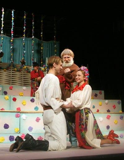 сватання на гончаривци Молодой театр киев