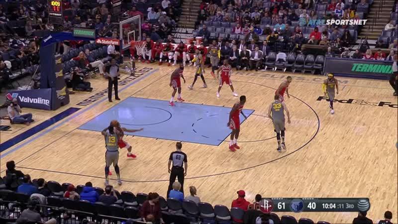 NBA 2018-2019 15.12.2018 Houston Rockets @ Memphis Grizzlies