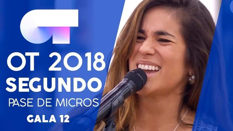 YA LO SABES JULIA SEGUNDO PASE DE MICROS GALA 12 OT 2018
