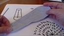 Стелька, основа или подошва для домашних тапочек-балеток крючком