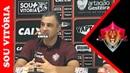 Confira a apresentação do novo técnico do Vitória Marcelo Chamusca
