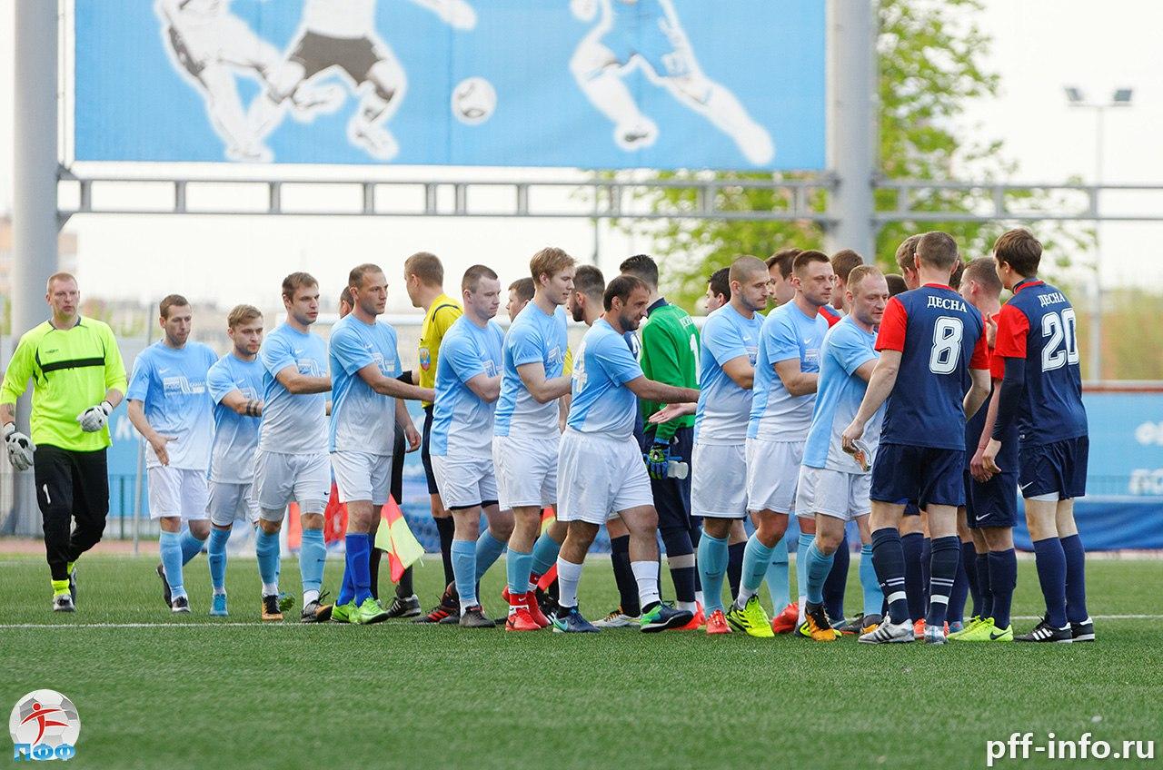 Обзор первой части Чемпионата Подольска по футболу