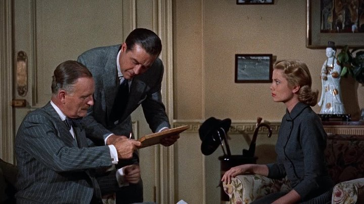 В случае убийства набирайте «М» (HD72Ор) • Криминальный триллер \ 1954г • Грэйс Келли, Рэй Милланд, Роберт Каммингс, Джон Уильямс и др...