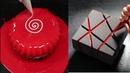 MOST SATISFYING MIRROR GLAZE CAKE DECORATING COMPILATION CakesDecorating Tehniques