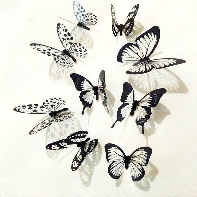 Настенные бабочки -