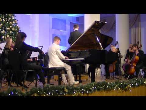 Роберт Шуман, концерт для фортепиано с оркестром. Солист Н.Воронцов