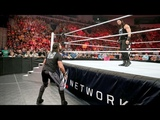 WWE RAW 5302016 Roman Reigns calls out Seth Rollins