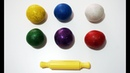 Learn colors Learn numbers with Glitter Play Doh