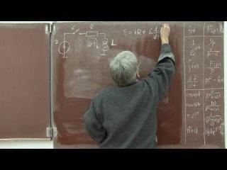 Лекция 127. Переходной процесс катушки индуктивности