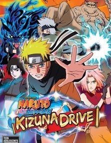 Naruto kizuna drive скачать игру и патч (PSP 2010)