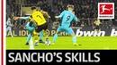 Jadon Sancho - Magician on the Ball - Dortmund's Young Gun Shows Great Skills