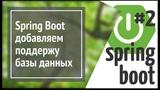 Spring Boot JPA (Hibernate) добавляем базу данных в веб приложение на Java (простой сайт)