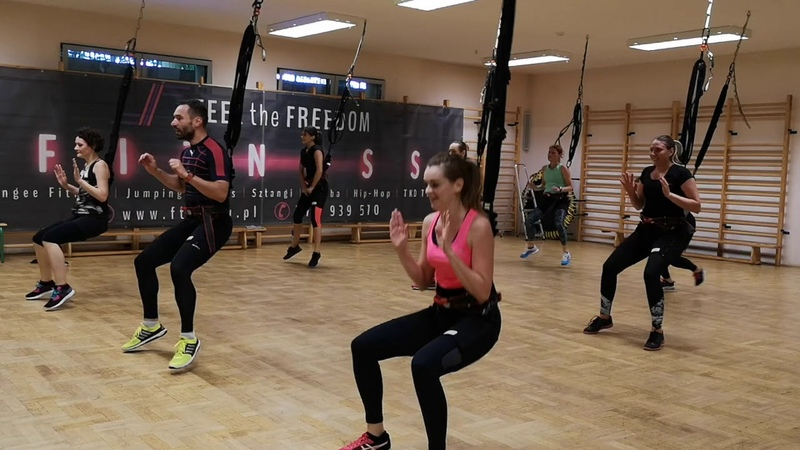 Bungee Fitness w Feel the Freedom-trening