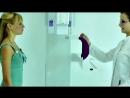 Нанесение метки зверя при 3D Рентгене Зубов (Ортопантомограф) Обратите внимание как на 2:30 она убирает ей волосы!
