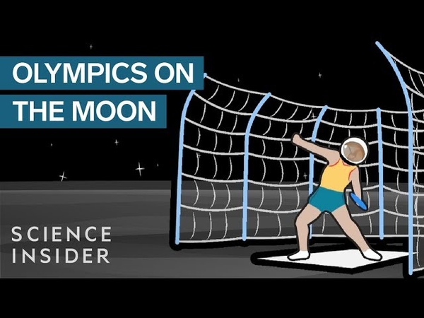 What The Olympics Would Be Like On The Moon
