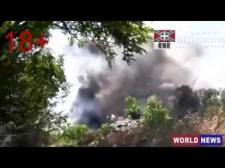 ОЖЕСТОЧЕННЫЕ БОИ 18+ ! Ополченцы уничтожили батальон АЙДАР