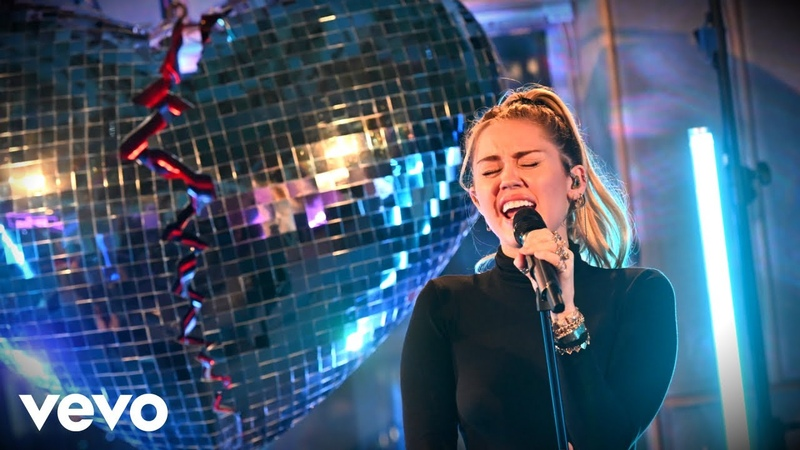 Mark Ronson, Miley Cyrus - No Tears Left To Cry (Ariana Grande cover) in the Live Lounge