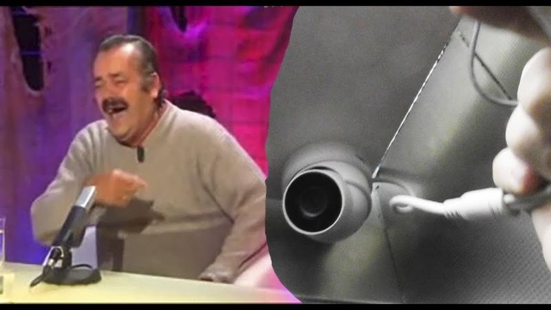 Испанец-хохотун заказал видеонаблюдение в лифтах