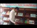 Жастар таңдайды Молодежь предпочитает атты жобасына қатысушы Ербол Сағынбайұлы жастарды кітап оқуға шақырады