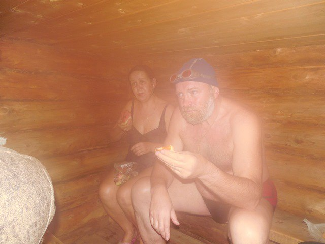 Арбуз в бане