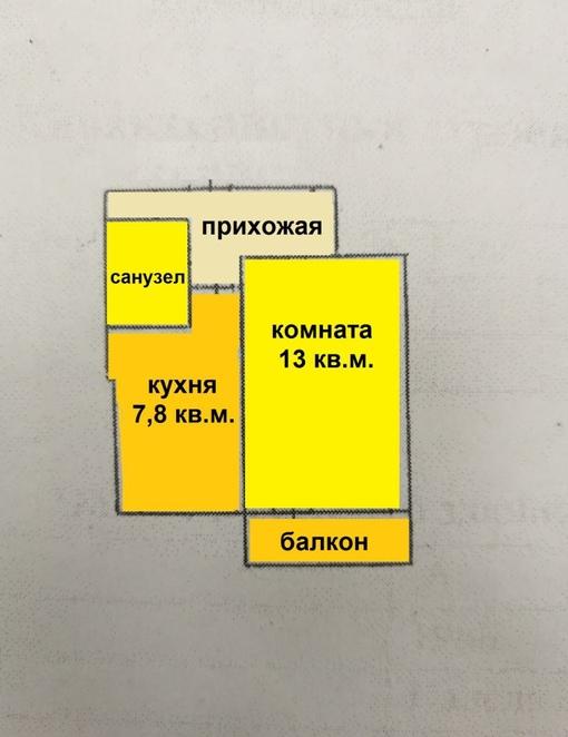 купить однушка Дежнёвцев 11к1