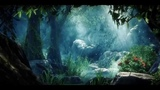 Футаж В глубине леса анимация Deep in the woods animation