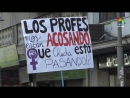 Chilean Womens Rights Activists Hold Vigil to Protest Spate of Femicides