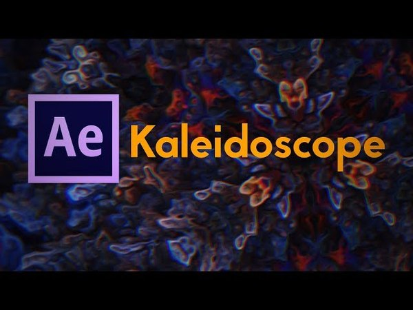 Creating a Kaleidoscope with After Effects