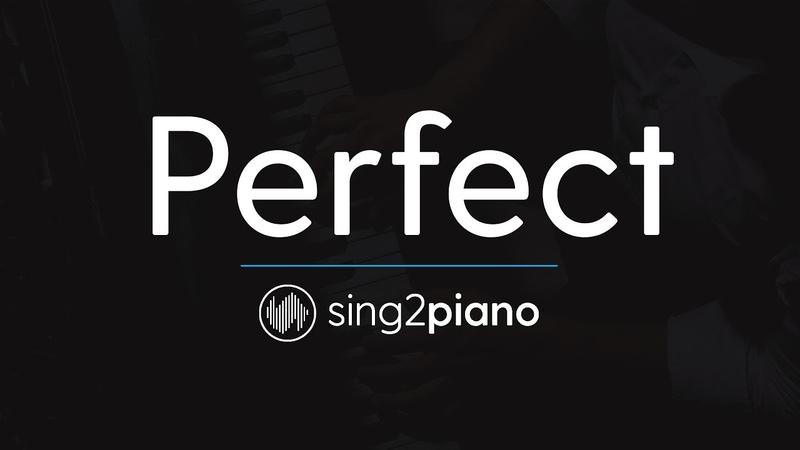 Perfect (Piano Karaoke Instrumental) Ed Sheeran