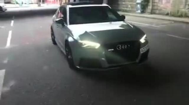 Audi RS3 epic sound