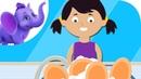 Wash the Dishes - Nursery Rhyme with Karaoke