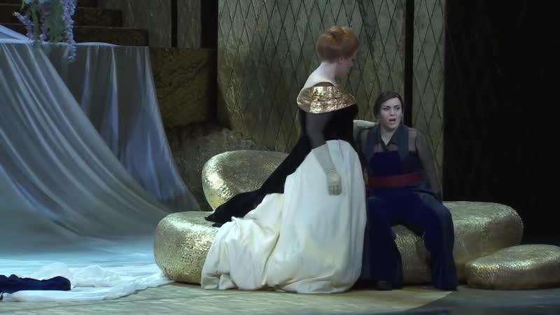 "Act I, Scene2, duo Semiramide - Arsace (Jessica Pratt - Teresa Iervolino). ""Semiramide"" de Rossini, Teatro La Fenice 2018"