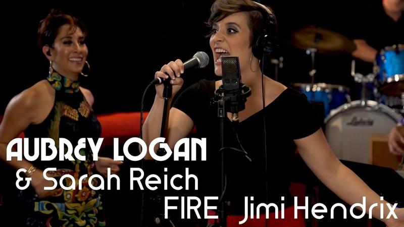 Jimi Hendrixs FIRE - trombone and tap dance - Aubrey Logan feat. Sarah Reich